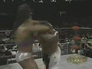 Female Bodybuilder Wrestling