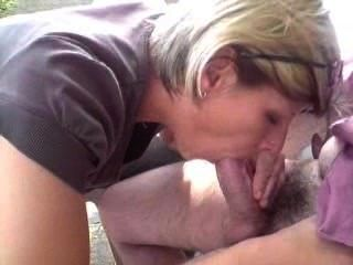 Can that mother in law gives blowjob to son in law face indeed