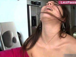 Lesbian Pornstars Mercedes Lynn, Dani Daniels, Shyla Jennings Fucking Off
