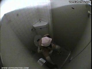 Public Toilet Room Girls Masturbation