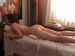 Teenie Gets Fingered And Screwed From Behind