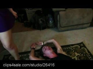Mixed Wrestling Action At Clips4sale.com