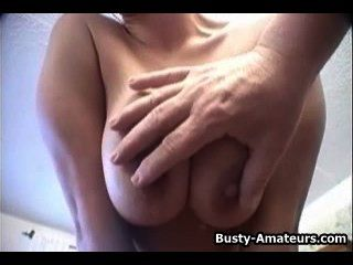 Busty Chick Doing Striptease And Hot Pov