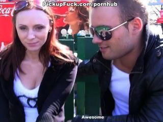 Meet And Redhead Fucked In The Park