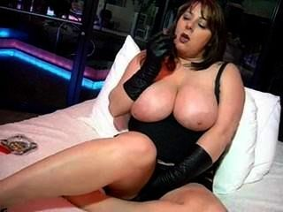 Busty Babe Smokes, Fucks, And Wants You To Suck A Cock