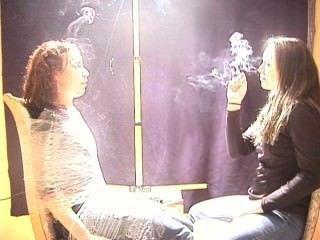 Expose To Female Smoke!