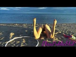 Nude And Anal Sex In A No Nudist Beach  Elisapublicslut.com