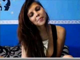 Webcam Smoking Teen, Looks Like A Colleague Of Mine!