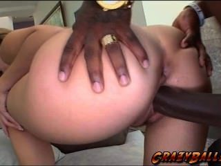 She Is Screaming Out Loud As She Gets Banged Hard By A Huge Black Cock!
