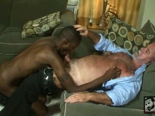 Daddy And Large Dicked Man