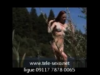 Natural Redhead Getting Off By River Voyeur disk-sexo.net 09117 7878 0