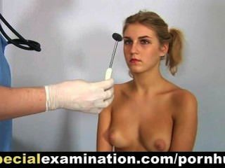 Uniform housewife vanda lousy stethoscope insertion 6