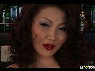 Mature Asian Misato Colorful Eroticism