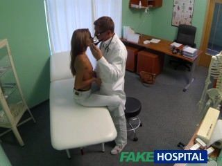 Fakehospital Spying On Hot Young Babe Having Special Treatment