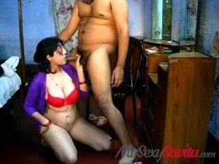Savita Bhabhi Blowjob Takign Cumshot On Big Boobs Indian Sex