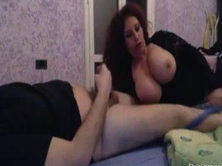 Romanian Wife Sucks His Cock