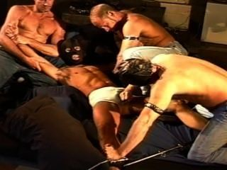Cbt 4 Muscle Stud Ball Bashing Orgy.