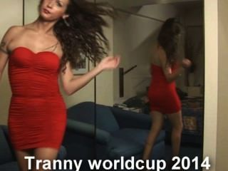 The Tranny Worldcup 2014 Is Here With Nikki Ladyboys