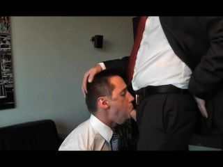 Business Man Face Fucking Bj - W/ Huge Facial