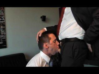 Businessman blowjob