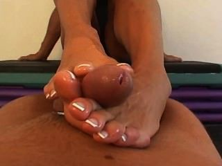 Goddess Heather - Pov Footjob