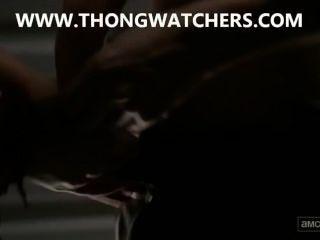 Lauren Cohan Sex Scene In The Walking Dead