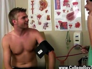 Gay Guys Then Once He Applies Some Lube, His Pipe Gets Super Rock Hard