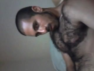 Arab - Blowing A Big Load All Over My Hairy Body - Arab Macho Hairy Hunk