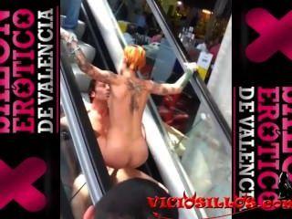 Silvia Rubi & Ivan Dan Fuck In The Escalators Of Sev2013 By Viciosillos.com