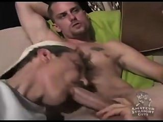 Str8 Fat Cock Gets A Bj