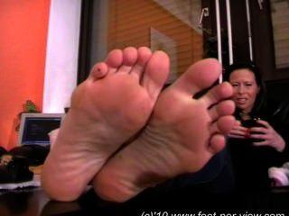 Nina Fuzzy Socks And Feet