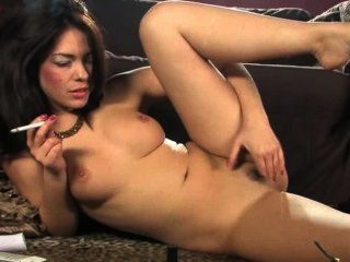 Ava Masturbates With Her Magic Wand