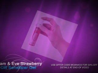 Best Clitoral Stimulator ★adam And Eve's Strawberry Clit Sensitizer Gel