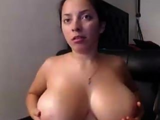 Busty Milf Playing With Herself
