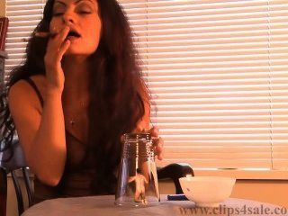 Sexy Smoking Giantess 6