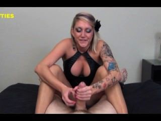 Midget getting fucked by big dick