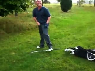 Golfer Erection