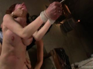 Slave Girl Veronica Avluv Is Shared By Isis Love And Dane Cross In This Thr