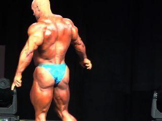 Muscledad Martin Blue Shiny Posers 1/2