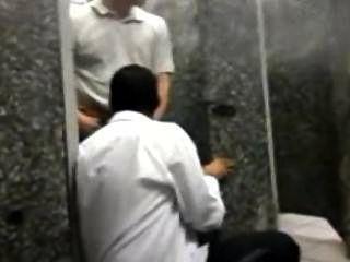 Bathroom Fun At The Train Station In Sao Paulo