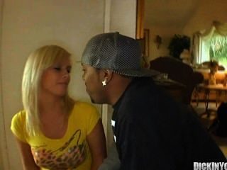 Sexy Young Blonde Cutie Seduced By Black Cock 08