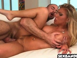 Aubrey Addams Get Served With Cock 09