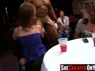 25 Strippers Get Blown At Cfnm Sex Party 07