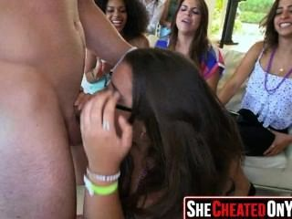 61 Hot Bitches Taking Loads At Cfnm Party! 11