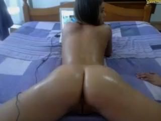 Romanian Girls Oily Fingering Webcam Show