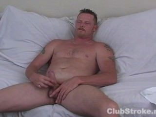 Naughty Straight Guy Hef Masturbating