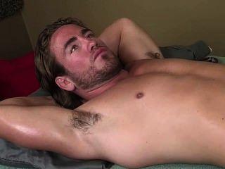 Hot Muscle Hairy Armpit - Massage