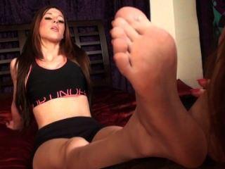 Italian Princess Foot Worship Hd