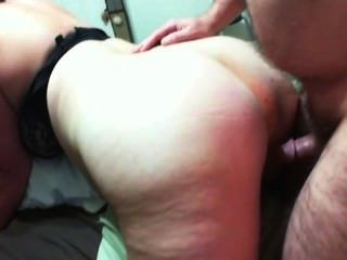 Homemade Milf Gets Fucked Doggy And Cumshot On Her Ass