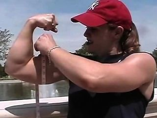 Kim Kilper Biceps Measure